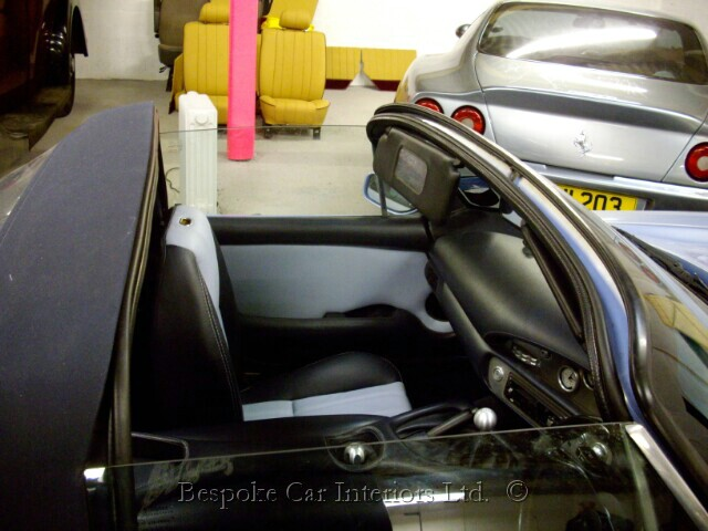 bespoke car interiors custom design and restorations re. Black Bedroom Furniture Sets. Home Design Ideas